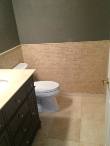 Bathroom B after