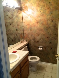 Bathroom B before
